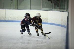 Derek in his first year of hockey.  2008-2009.